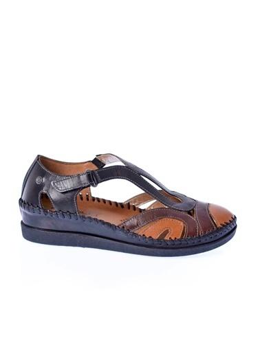 Forelli Sandalet Siyah